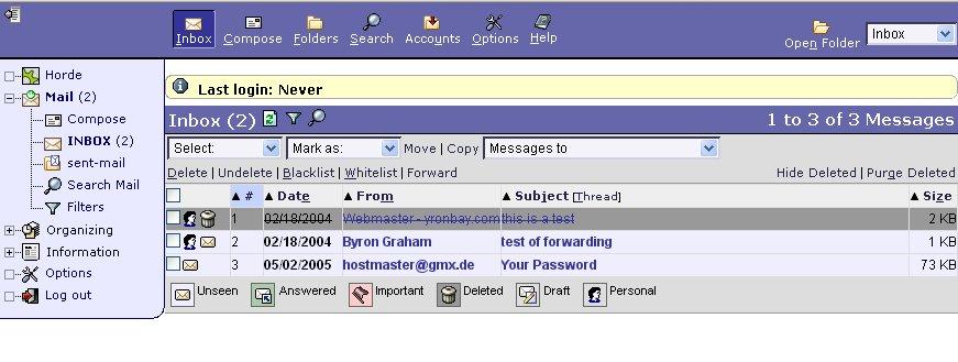 personal mail login